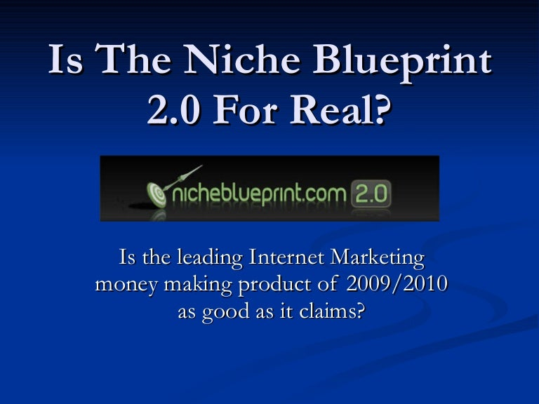 Niche blueprint 20 review malvernweather Choice Image