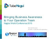 Bringing Business Awareness to Your Operation Team (Nagios World Conference 2013)
