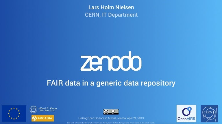 Zenodo and linking Open Scienc...
