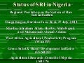 1298-Status of SRI in Nigeria