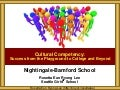 Nightingale-Bamford Cultural Competency Conversations at Home