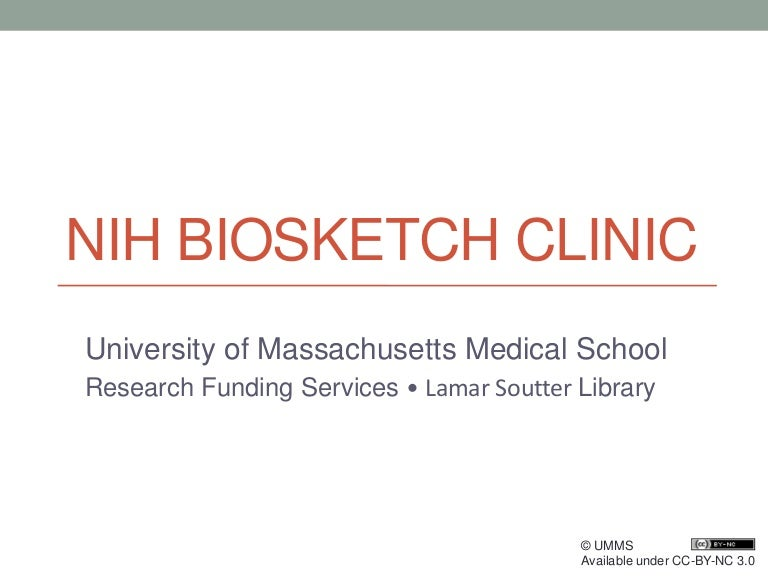 Requirement Date Extended for New NIH Biosketch Format   MSK
