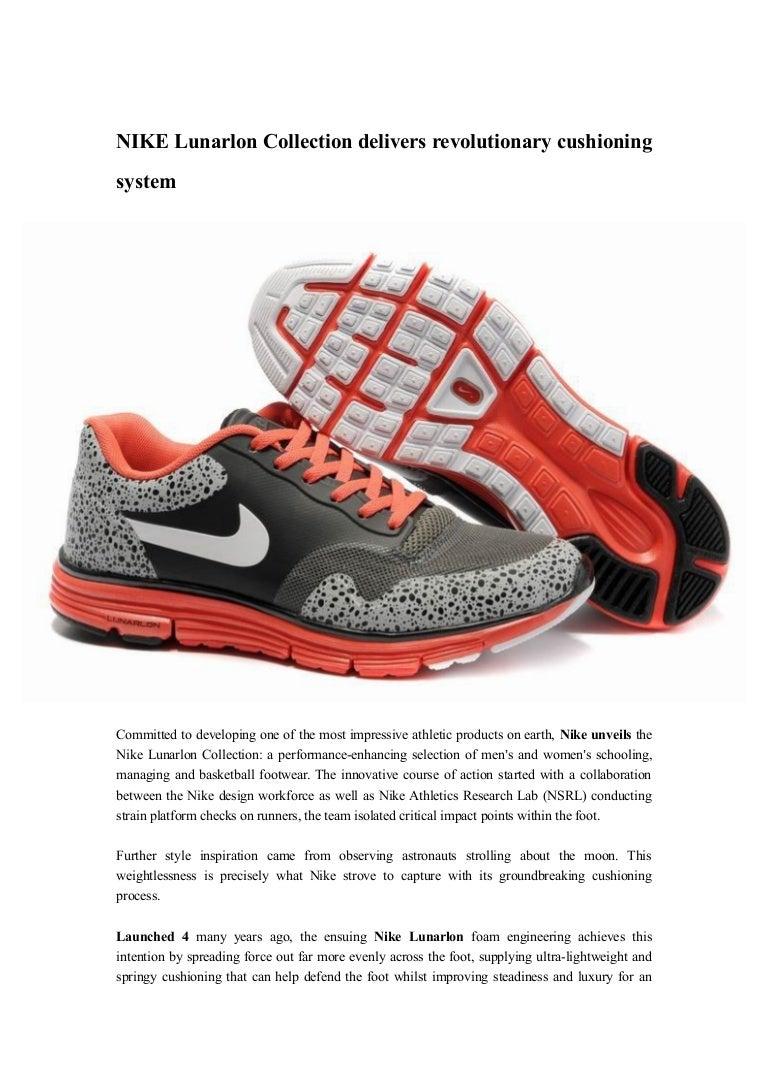 Nike lunarlon collection delivers