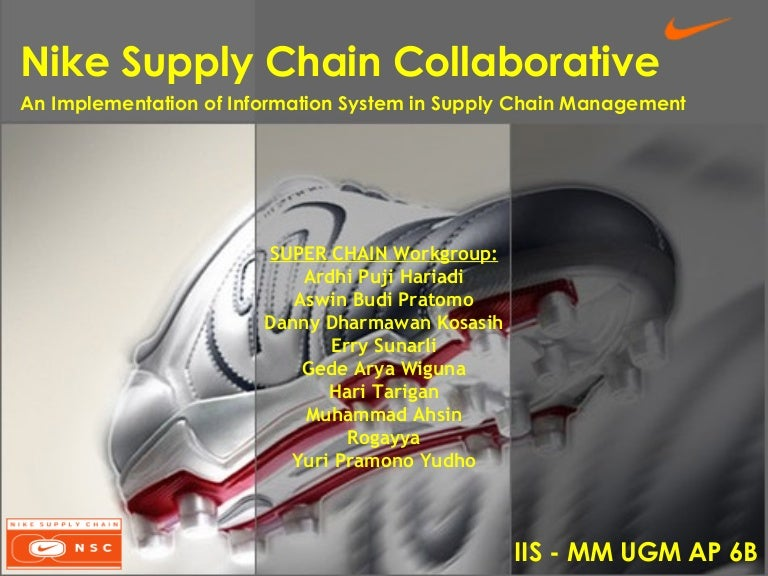 nike supply chain case study