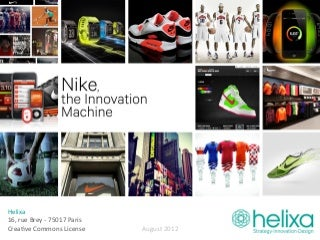 Nike, The Innovation Machine