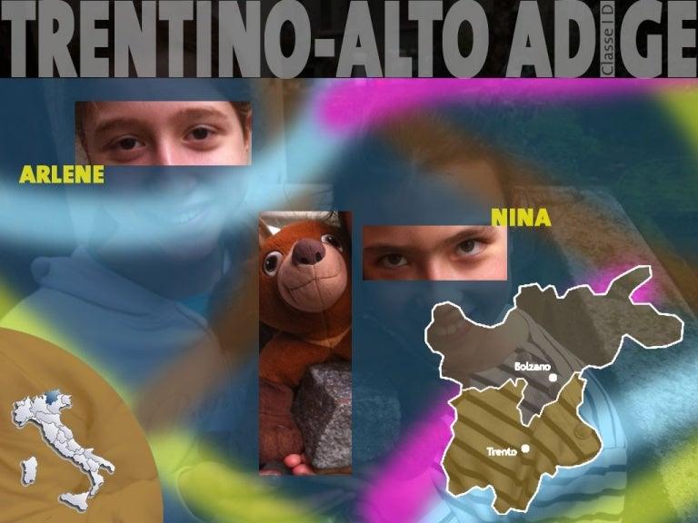 Trentino Alto Adige Cartina Fisica E Politica.Nina Arlene Trentino