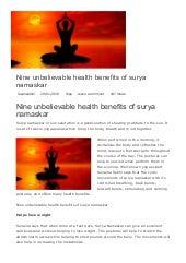 fitness tips chandra namaskar will help you lose weight