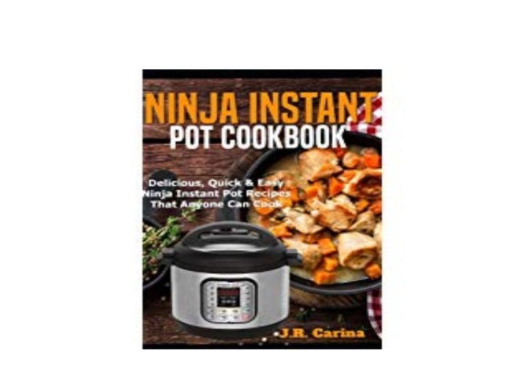Download P D F Ninja Instant Pot Cookbook Delicious Quick Eas