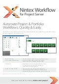 Nintex Workflow 2013 for Microsoft Project Server from Atidan