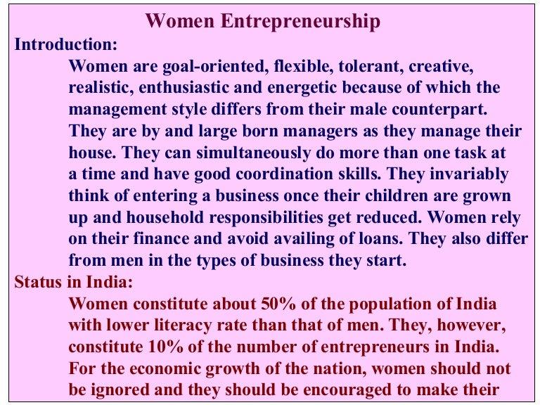 Entrepreneurial development.