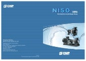 Niso end suction centrifugal pump
