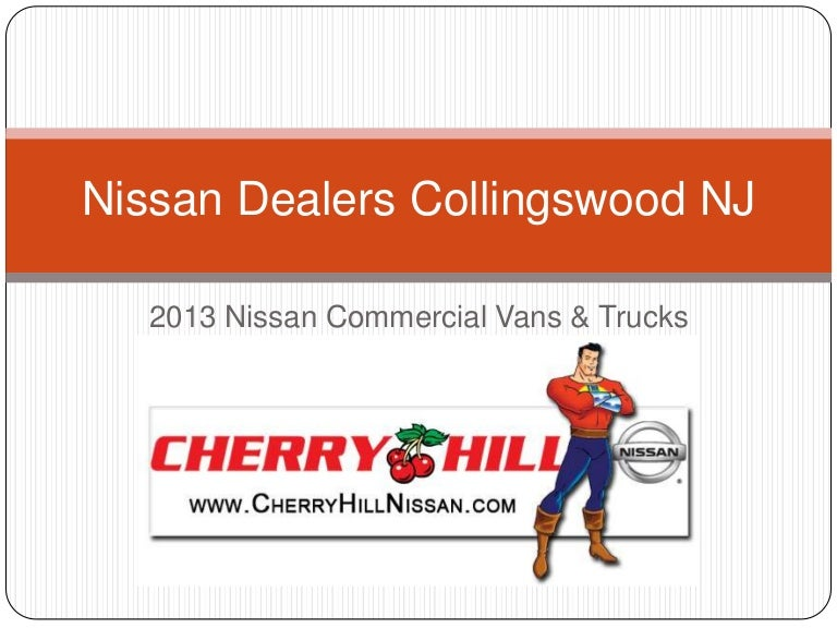 Nissan Dealers In Nj >> Nissan Dealers Collingswood Nj