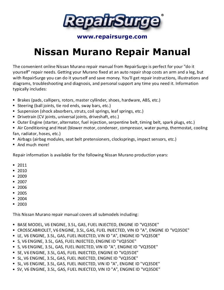 nissan murano alternator wiring diagram wiring diagrams 2013 Nissan Murano Wiring Diagram nissan murano repair manual 2003 2011 2004 nissan murano alternator pigtail together with 2009 nissan murano 2015 nissan murano wiring diagrams