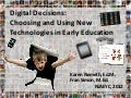 Digital Decisions: Choosing and Using New Technologies in Early Education, NJAEYC