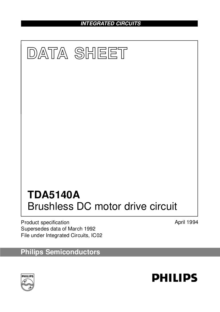 Tda5140 A Circuit For This Specification In The Form Of An Ic Or