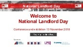 National Landlord Day - Ozone slides 2018