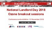 National Landlord Day 2018 - Ozone breakout session