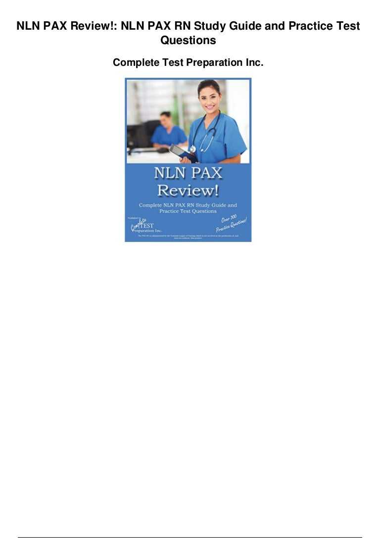 NLN Publishes Official Study Guide for New Revised Single ...
