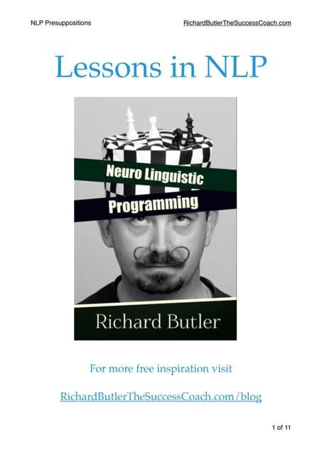 NLP presuppositions