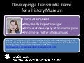 Developing a transmedia game at a history museum