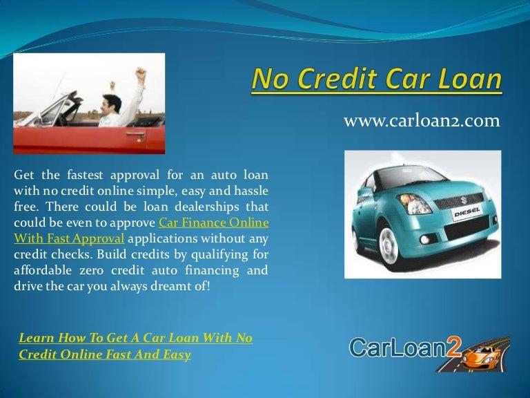 No Credit No Cosigner Car Dealerships >> No Credit Car Loan