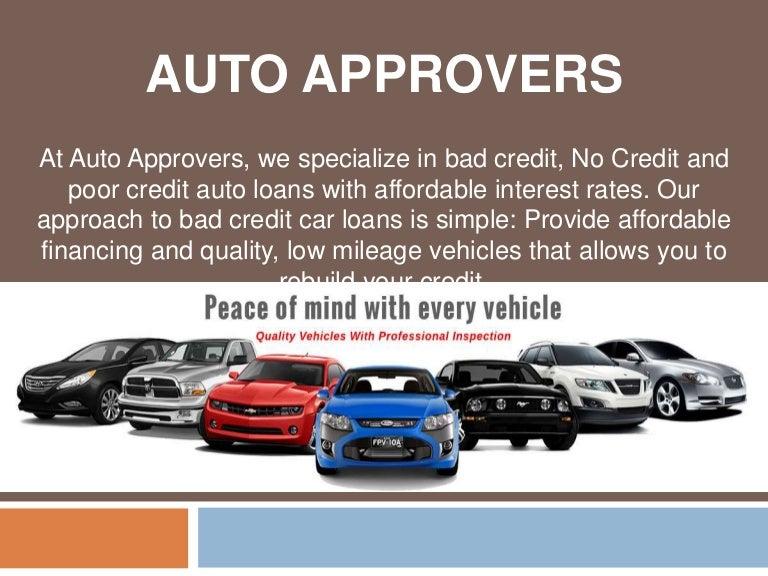 Bad Credit Car Dealerships >> No Credit Car Loan