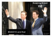 Downing Street 2.0: #GE2010 and that