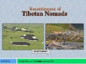 Resettlement of Tibetan Nomads