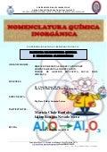 Práctica de Laboratorio: Nomenclatura quimica inorgánica