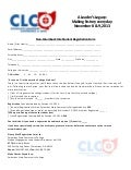 2013 Collegiate Leadership Conference registration