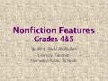 Nonfiction Features Gr 4-5