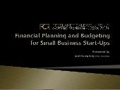 Financial Planning - Joel Humphrey (Freelandt Caldwell Reilly LLP)