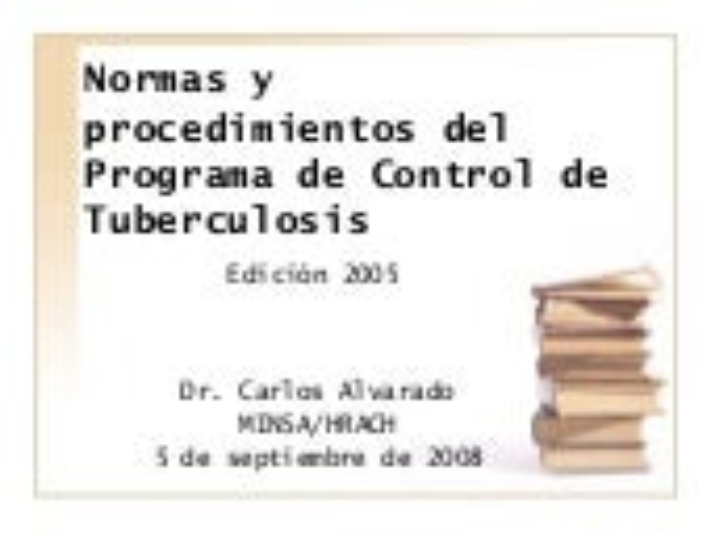 Normas y procedimientos del pct