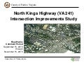 North Kings Highway (VA 241) Intersection Improvements Study
