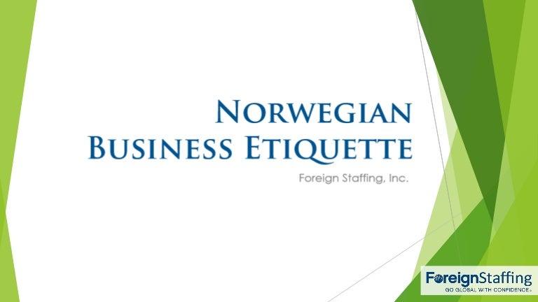 Norwegianbusinessetiquette 160208224115 thumbnail 4gcb1454971410 reheart Images
