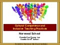 Norwood School Cultural Competence and Inclusive Teaching