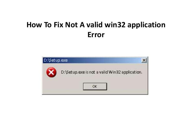 application win32 valide gratuit windows 7