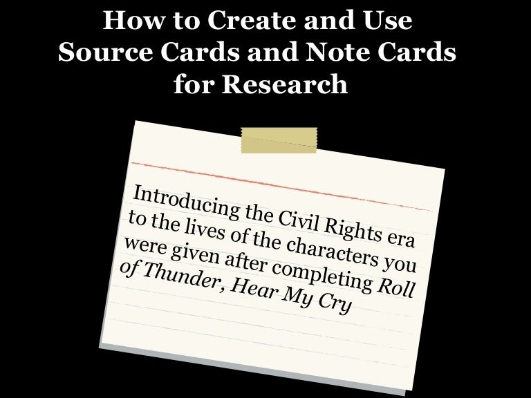 notecards for research papers Research paper writing guide including step-by-step instruction on picking a topic, effective research, using note cards, proofreading, and documentation.