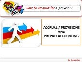 Provisions in Accounting & Prepaid Expenses