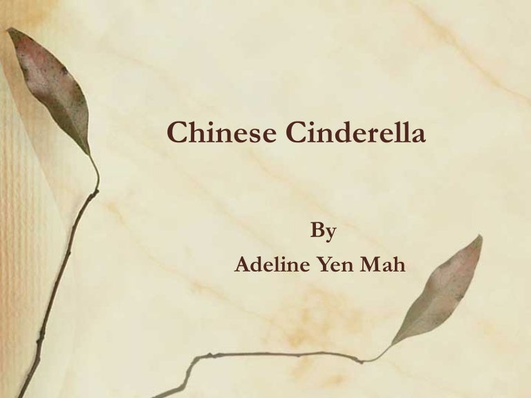 importance of family relationships in chinese cinderella From chinese cinderella growing up in a wealthy family in 1950s hong kong, adeline yen mah should have had an enviable childhood, but she was rejected.