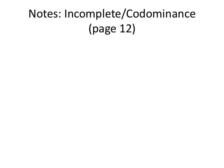 Codominance Punnett Square Worksheet - lovesongdesigns