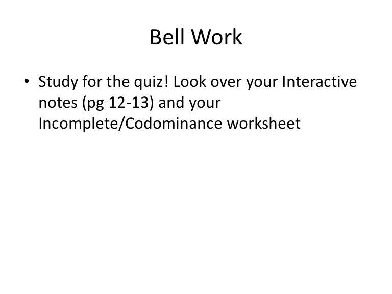 Multiple Allele Worksheet worksheet multiple allele crosses name – Codominance Worksheet