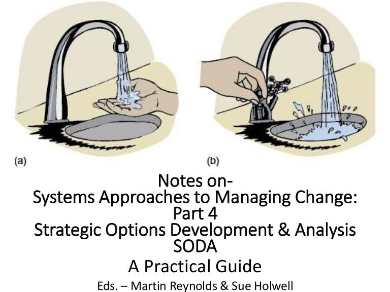 What is strategic options development and analysis