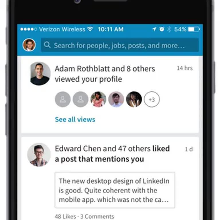 How to change your LinkedIn notifications settings