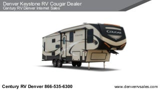Denver Keystone RV Cougar Dealer