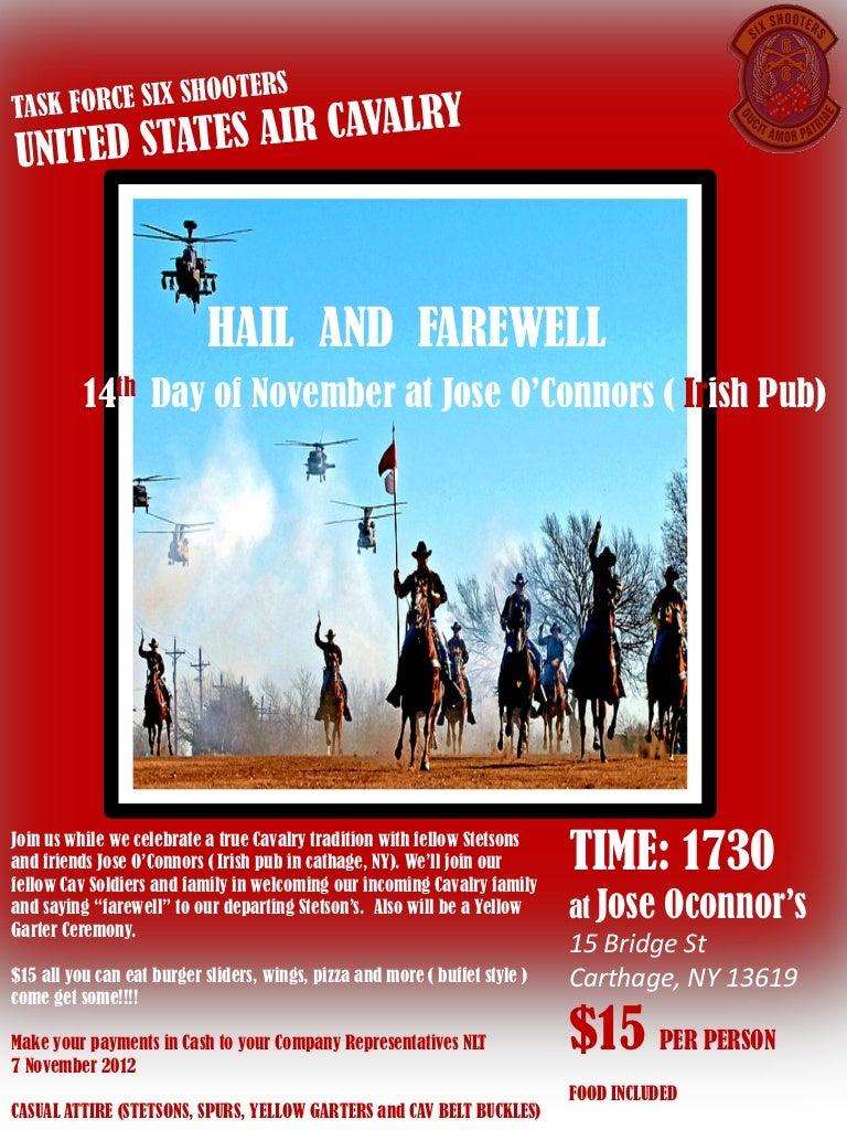 Nov hail and farewell flyer