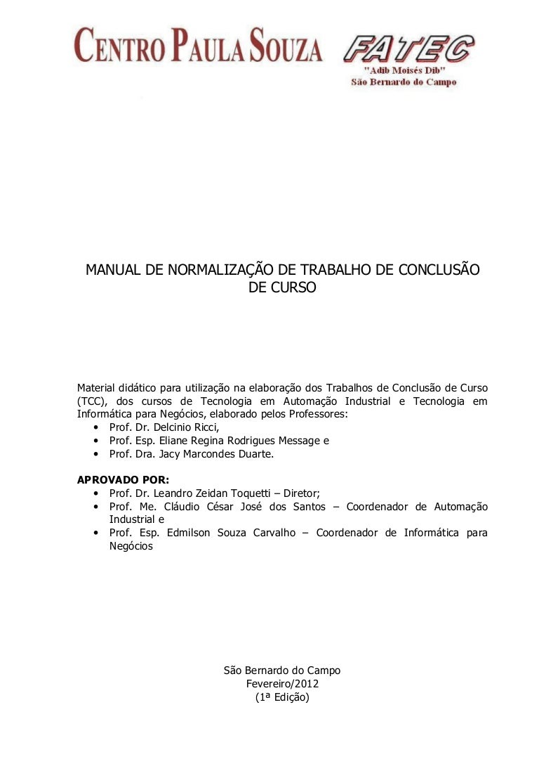 Novo manual tcc versão-1 2012