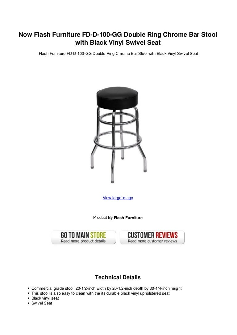 Enjoyable Now Flash Furniture Fd D 100 Gg Double Ring Chrome Bar Stool Beatyapartments Chair Design Images Beatyapartmentscom