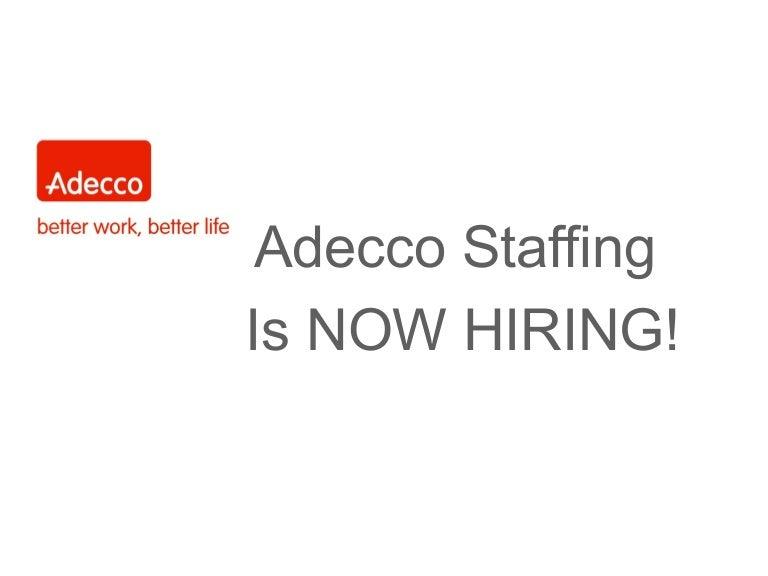Adecco Is Now Hiring For eBay Enterprises 2015