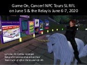 Npc tour relay of life in second life 2020